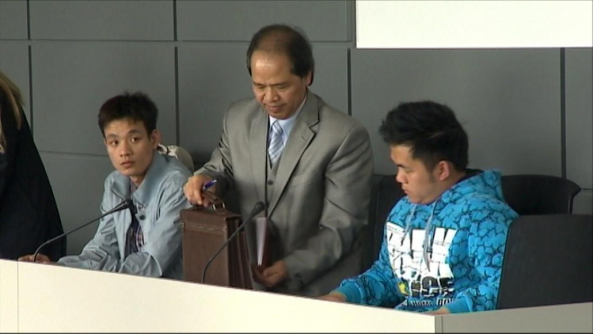 Obvinění u soudu