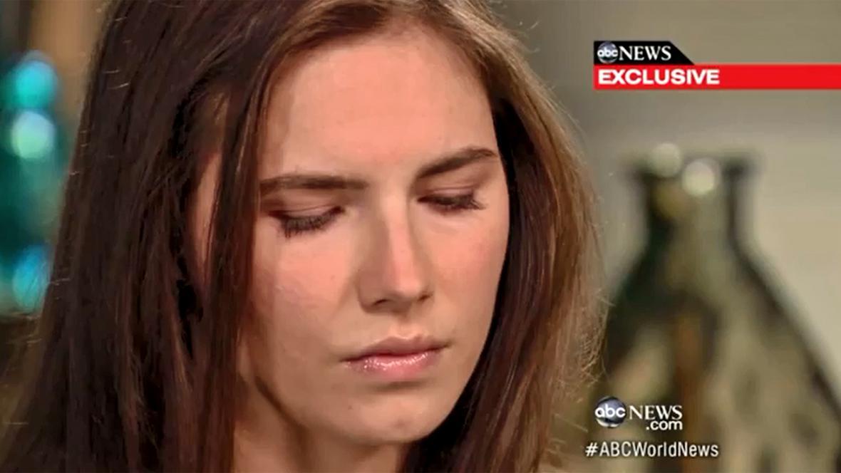 Amanda Knoxová v rozhovoru pro ABC News