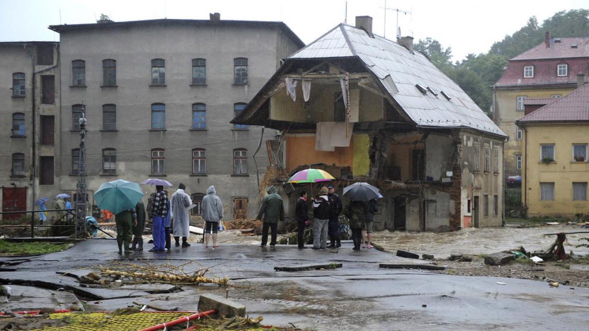 Chrastava - povodně 2010