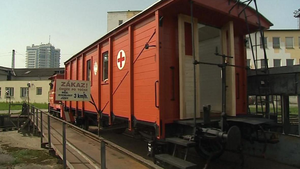 Vagón legionářského vlaku