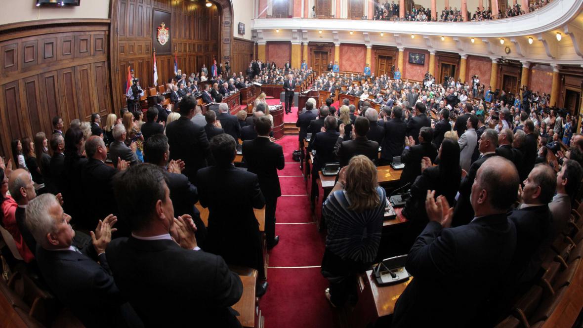 Srbský parlament