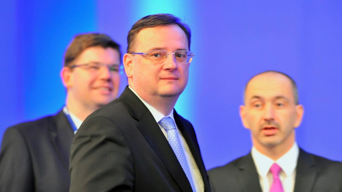 Jiří Pospíšil, Petr Nečas a Martin Kuba