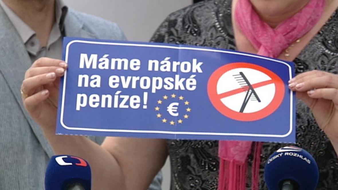Starostové se bojí o evropské peníze