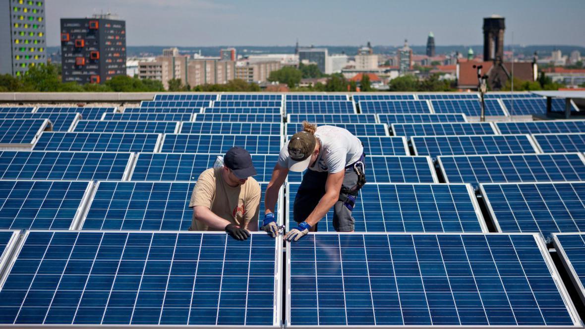 Solární energie v Německu