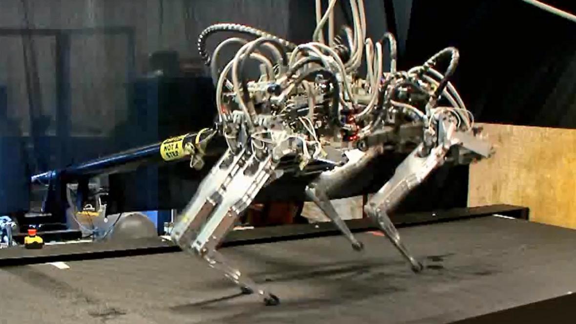 Robot americké armády Cheetah