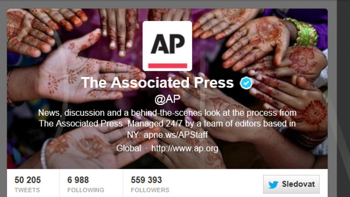 Twitter agentury AP