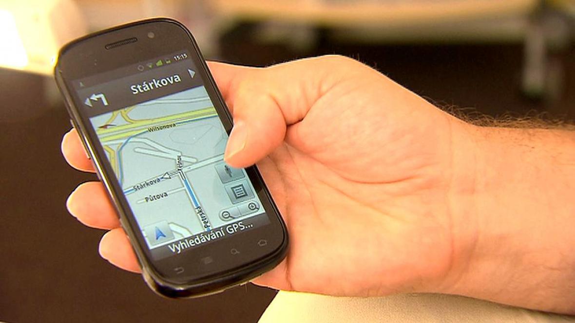 Navigace v telefonu