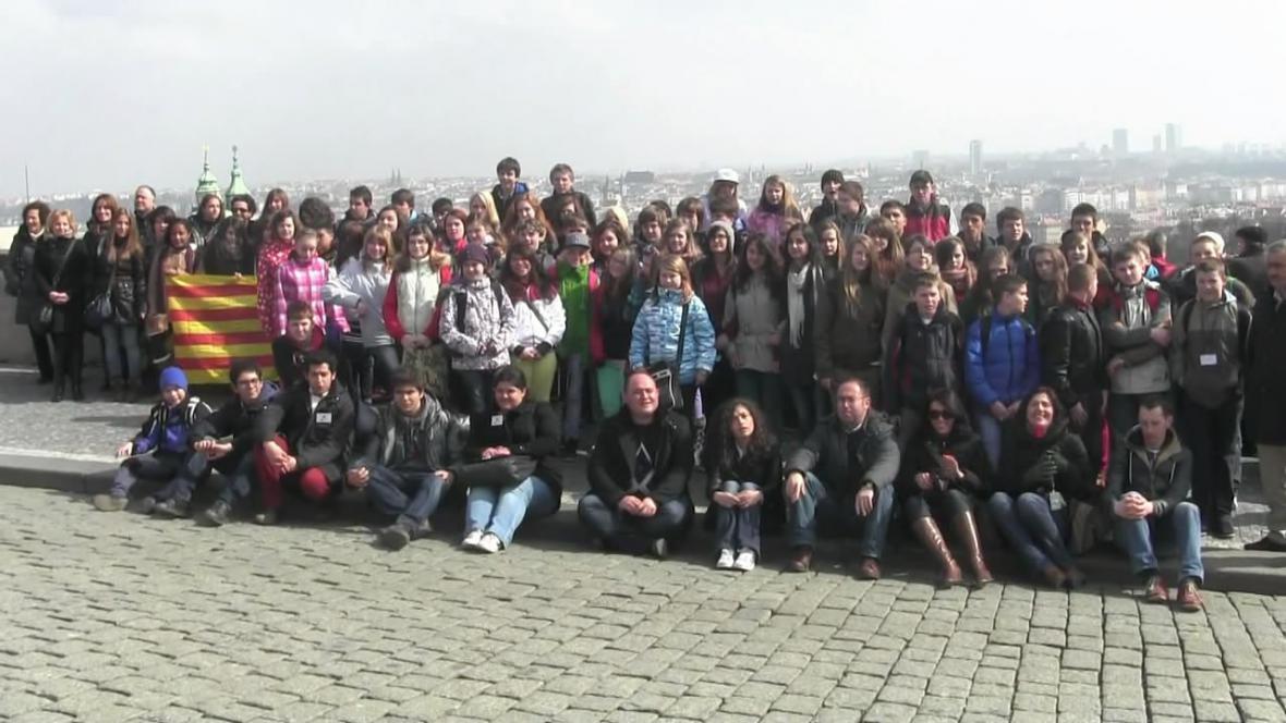 Účastníci projektu Comenius