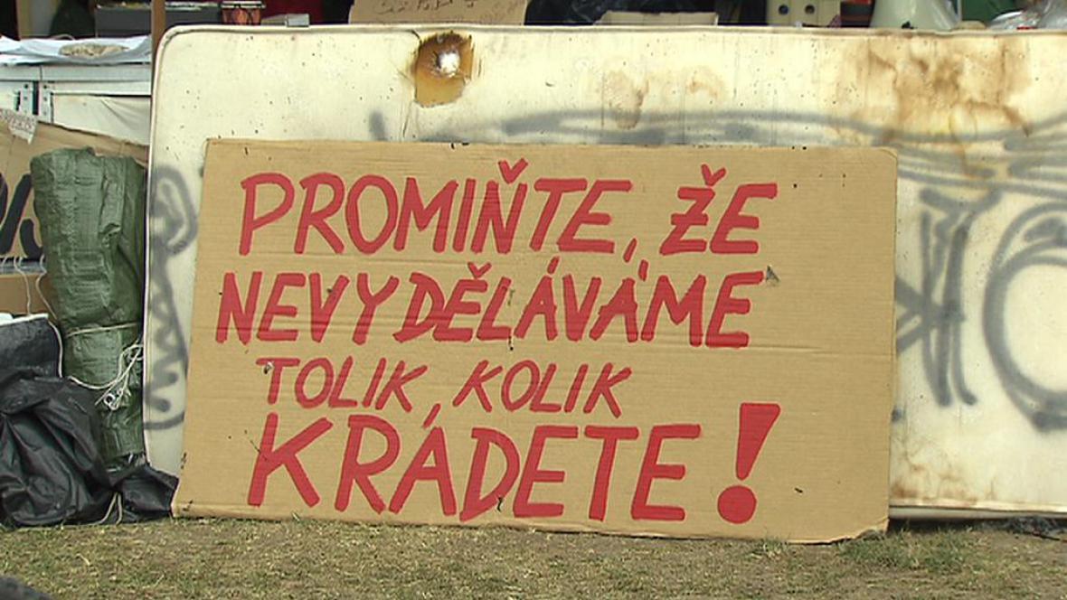 Protesty proti současné politické situaci