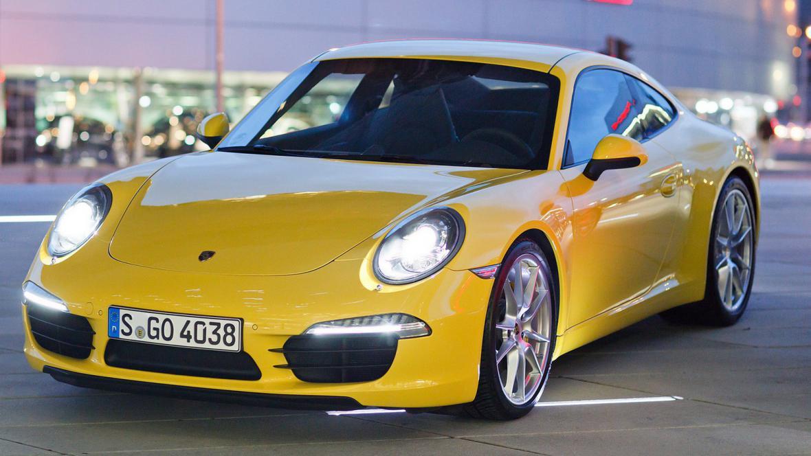 Nový model Porsche 911