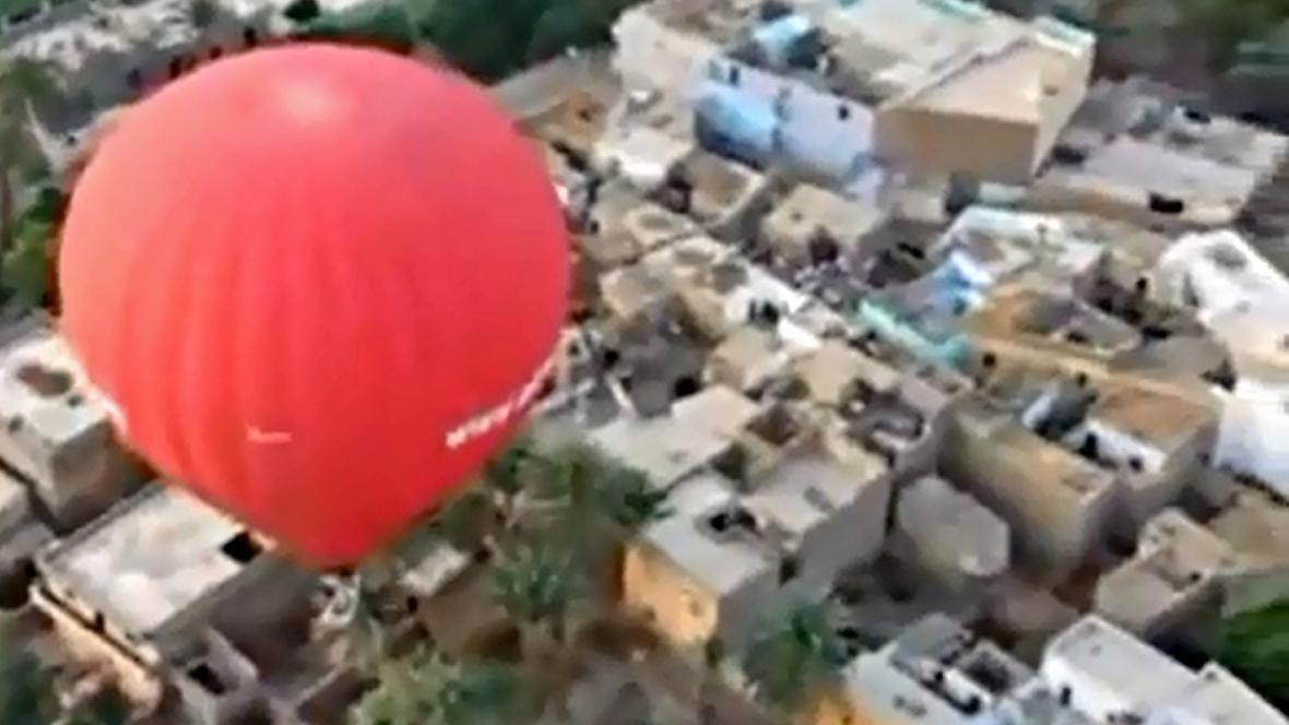 Nad Egyptem už zase létají balony