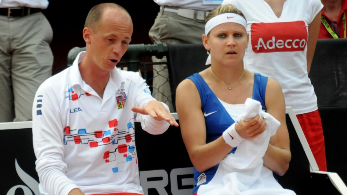 Petr Pála a Lucie Šafářová