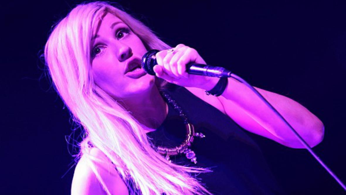 Ellie Goulding v Praze