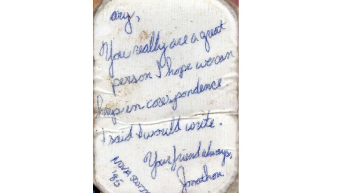 Vzkaz v láhvi nalezený v Chorvatsku