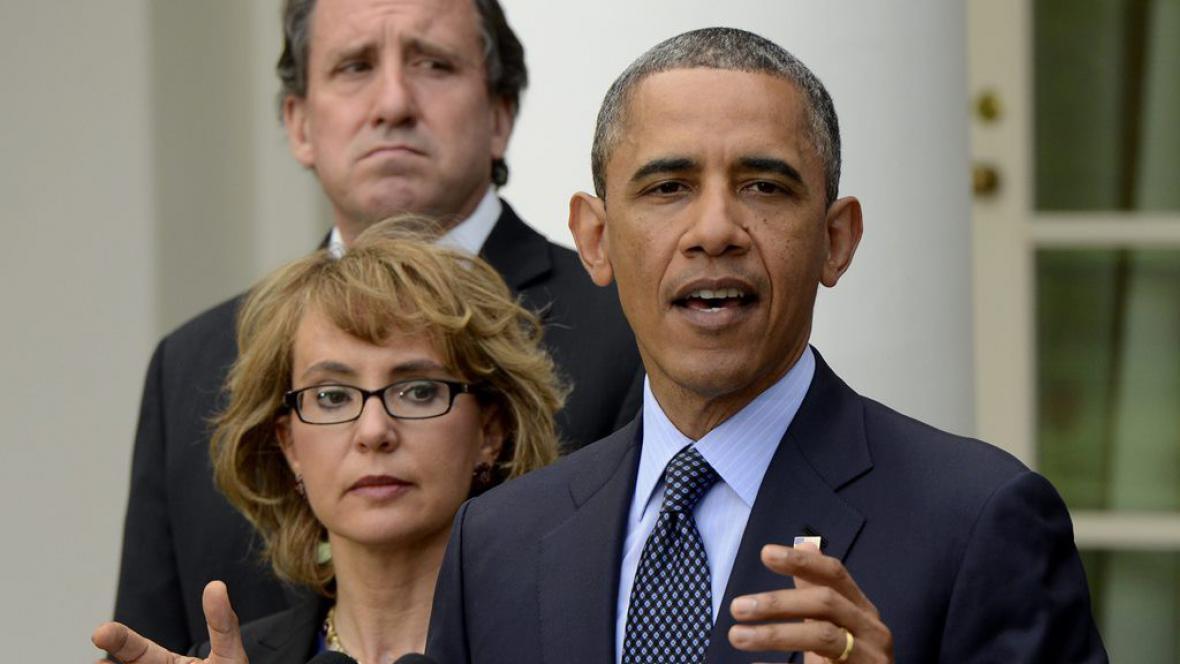 Barack Obama na konferenci o prodeji zbraní