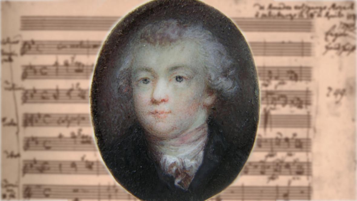 Nově nalezený portrét Wolfganga Amadea Mozarta