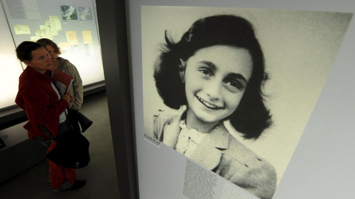 Výstava o Anně Frankové