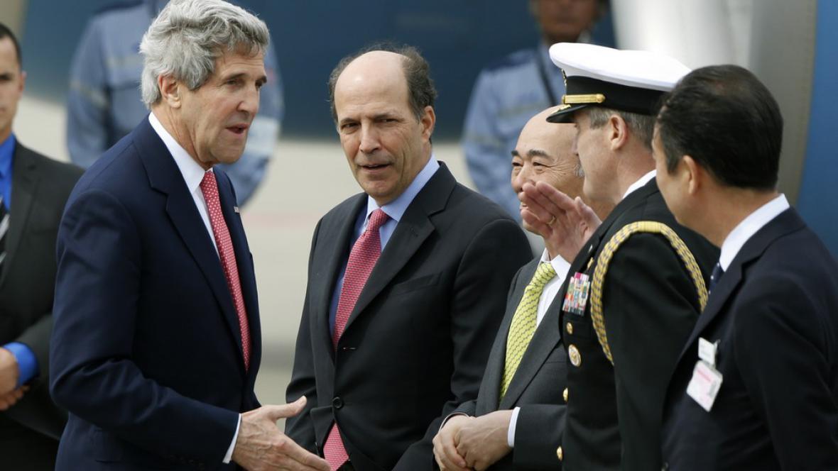 John Kerry v Japonsku