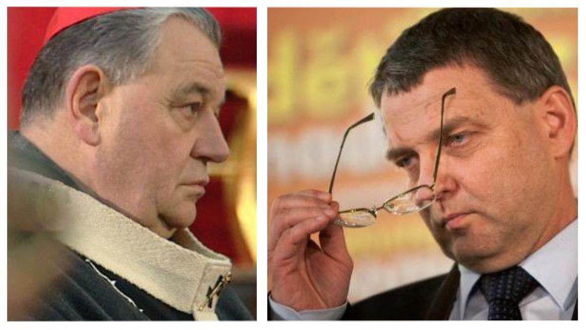 Dominik Duka versus Lubomír Zaorálek