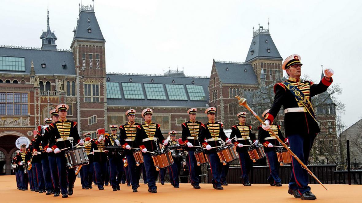 Slavnostní otevírání Rijksmusea po rekonstrukci
