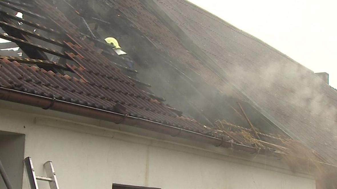 Shořelá střecha