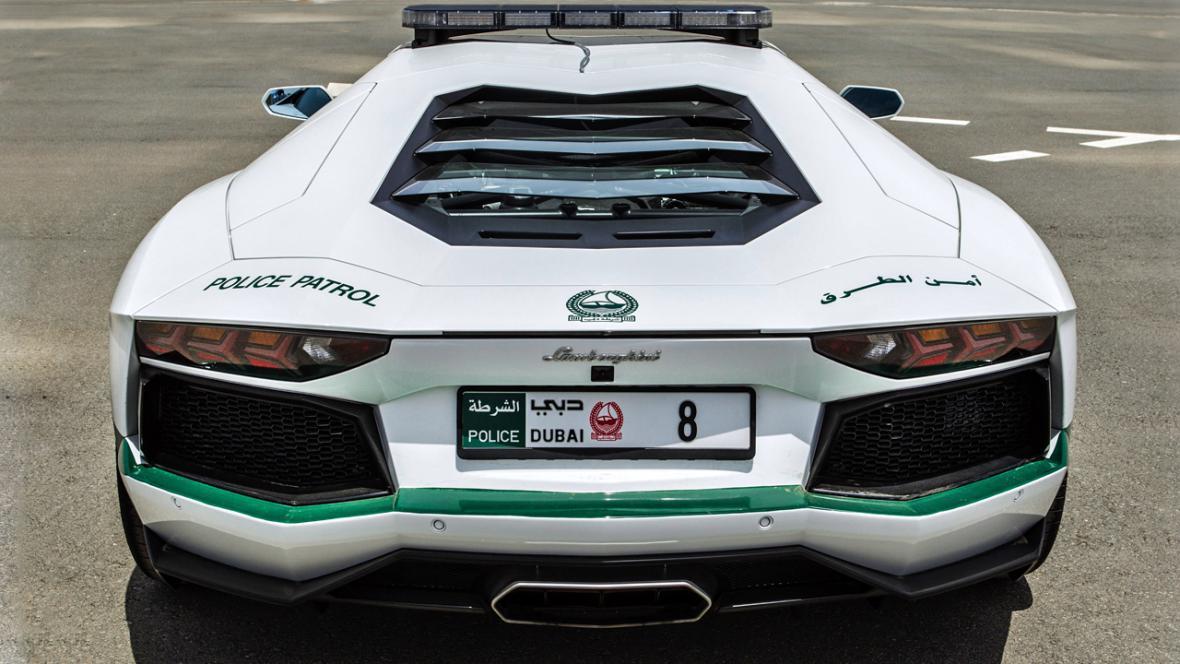 Lamborghini dubajské policie
