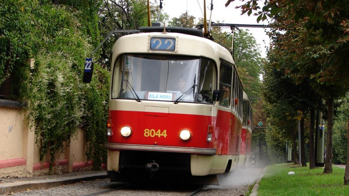 Tramvaj linky 22