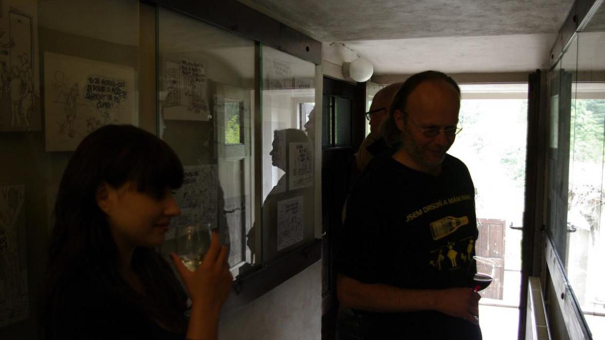 Vernisáž v Galerii Chodba