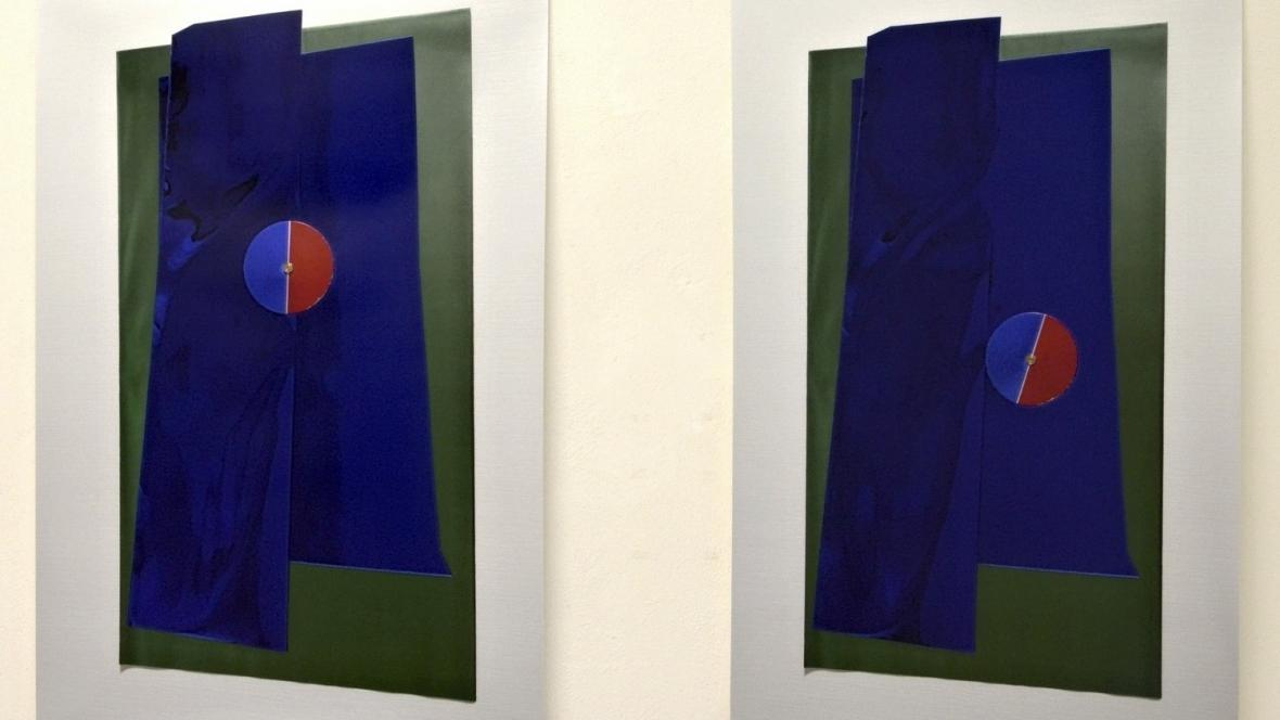 Z výstavy Štěpán Grygar 12 a 13