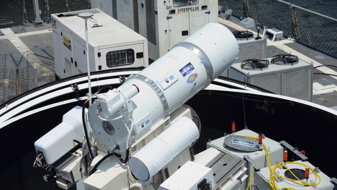 Americká laserová zbraň
