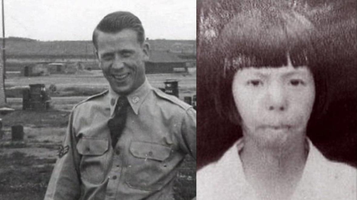 Richard Cadwallader a Kim Jeon Sun