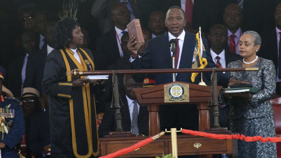 Slib prezidenta Uhuru Kenyatty