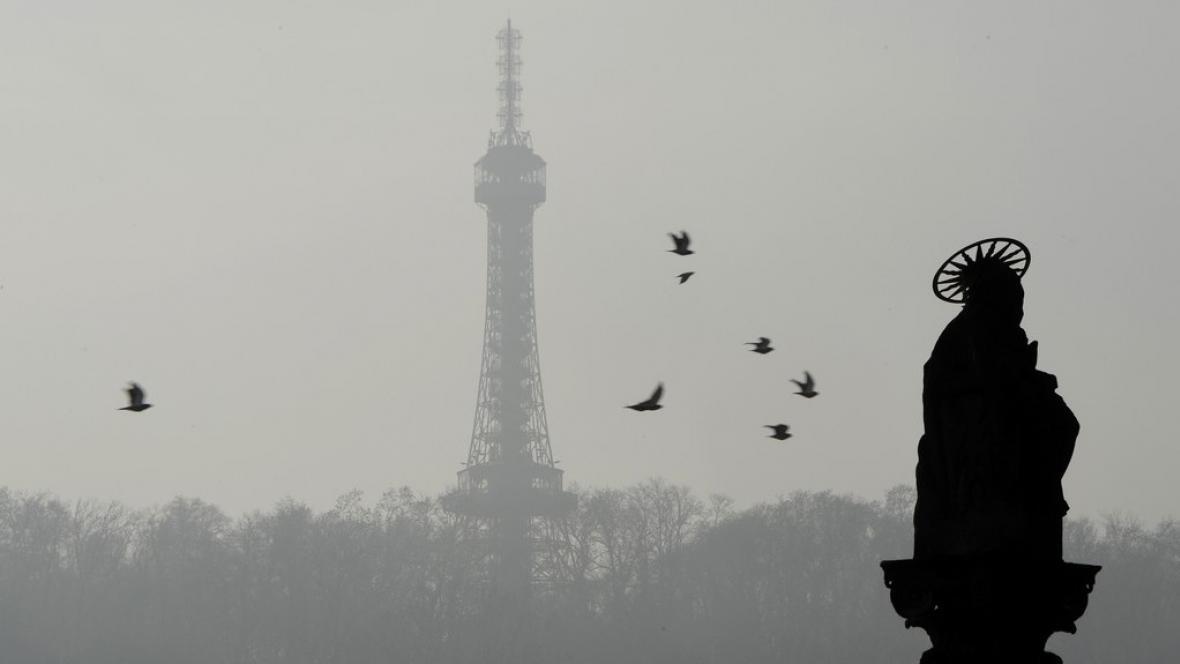 Smog v Praze