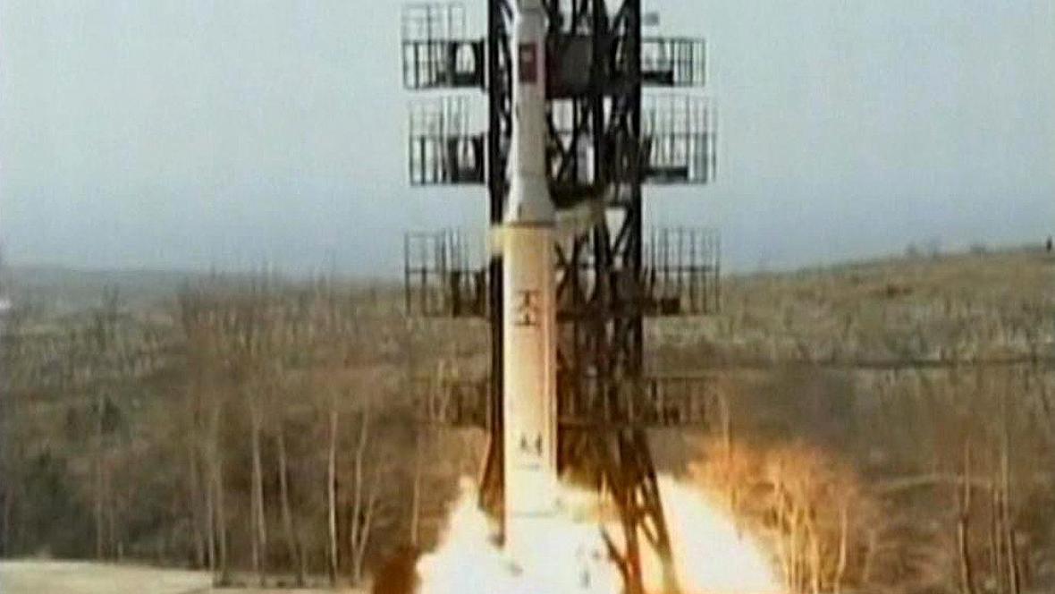 Raketa - ilustrační foto