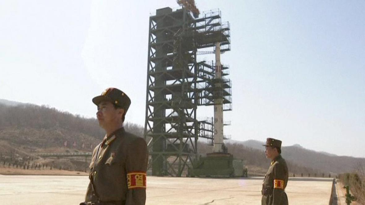 Severokorejská raketa