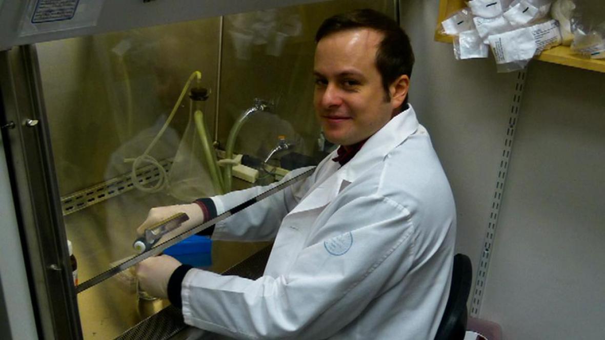 Vědec Michal Zimmermann