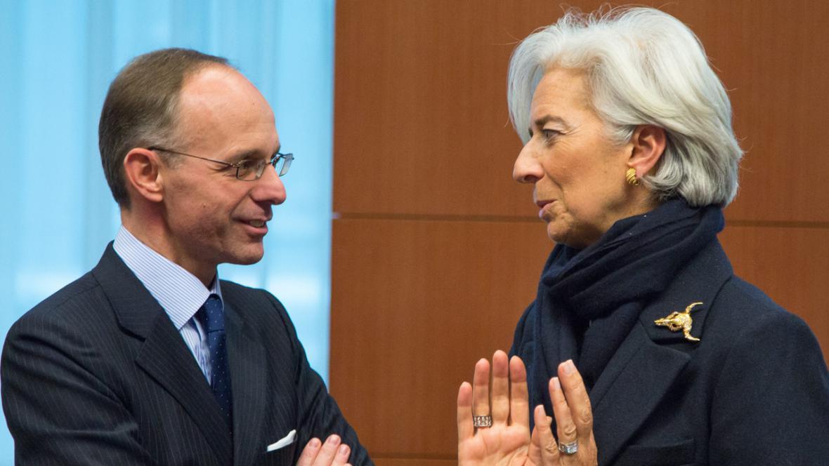Luc Frieden a Christine Lagardeová