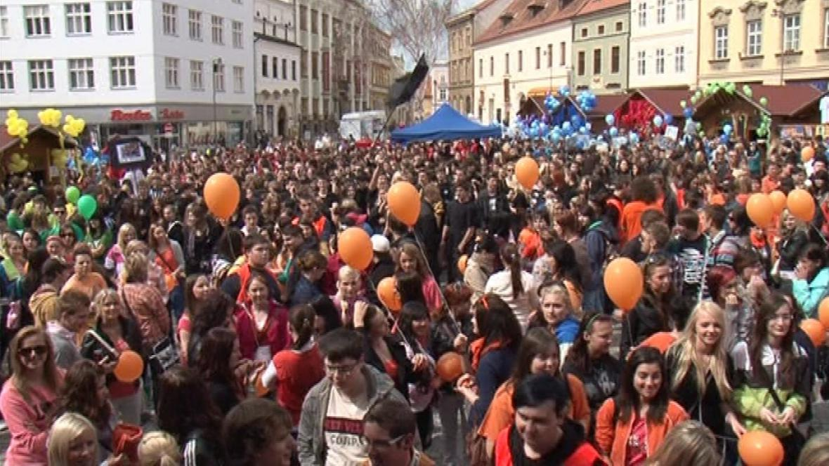 Znojemský majáles přilákal dva tisíce studentů