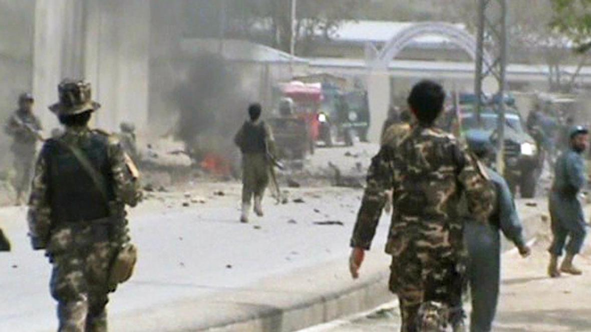 Atentát v afghánském Kalátu