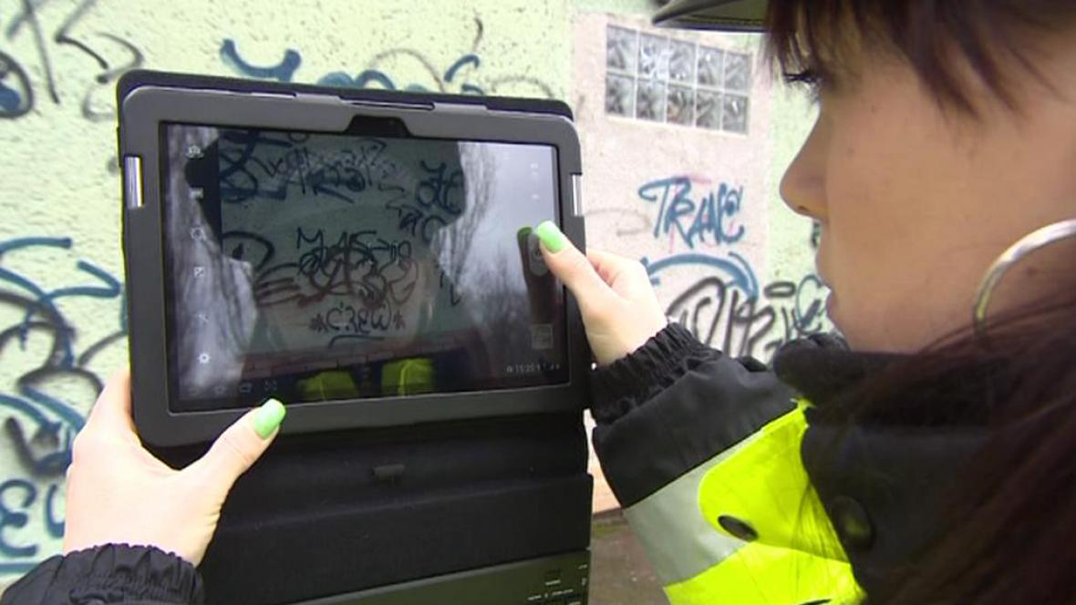 Fotografování graffiti