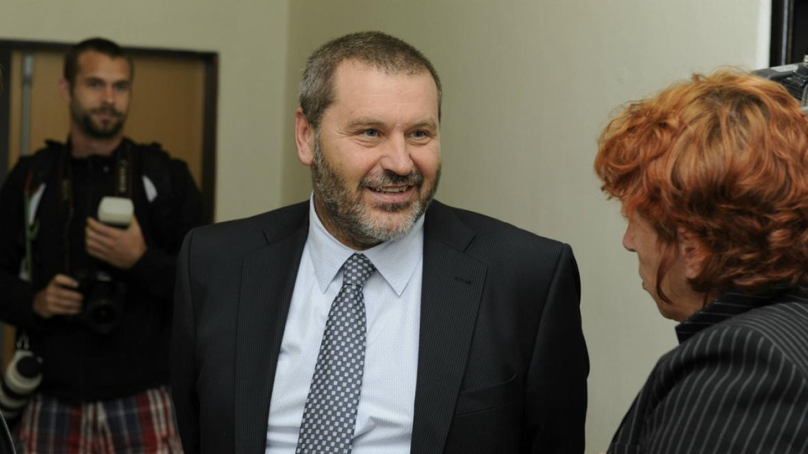 Exsenátor Novák u soudu
