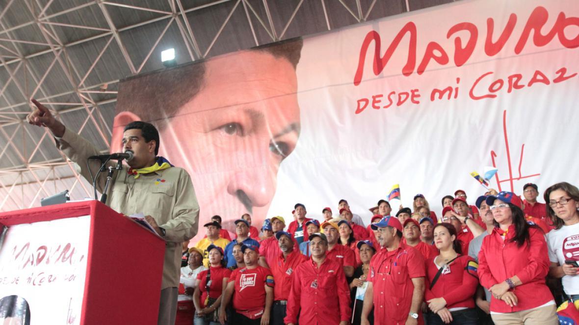 Kampaň před venezuelskými volbami