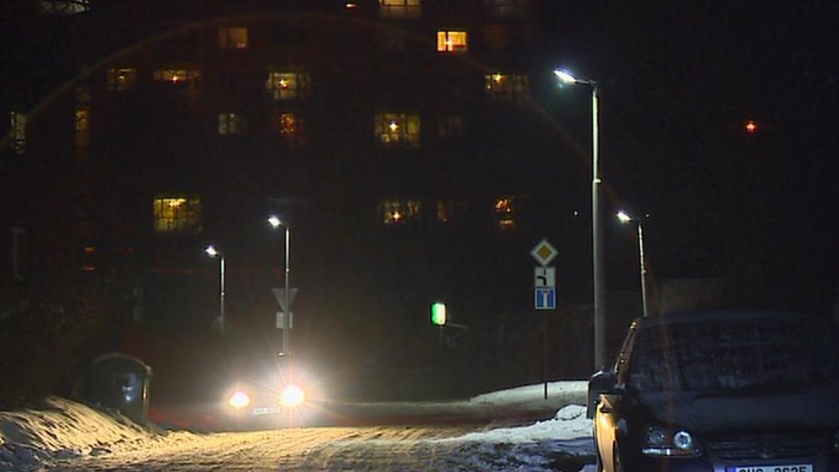 Pouliční osvětlení s LED technologií