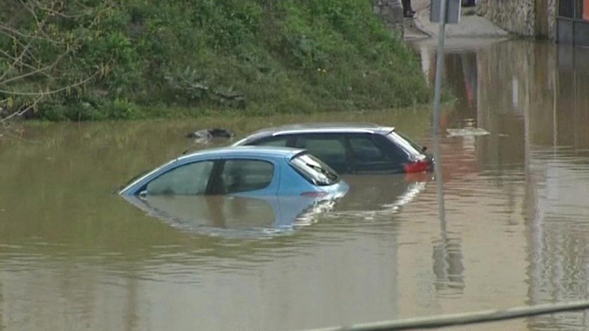 Španělsko trápí povodně