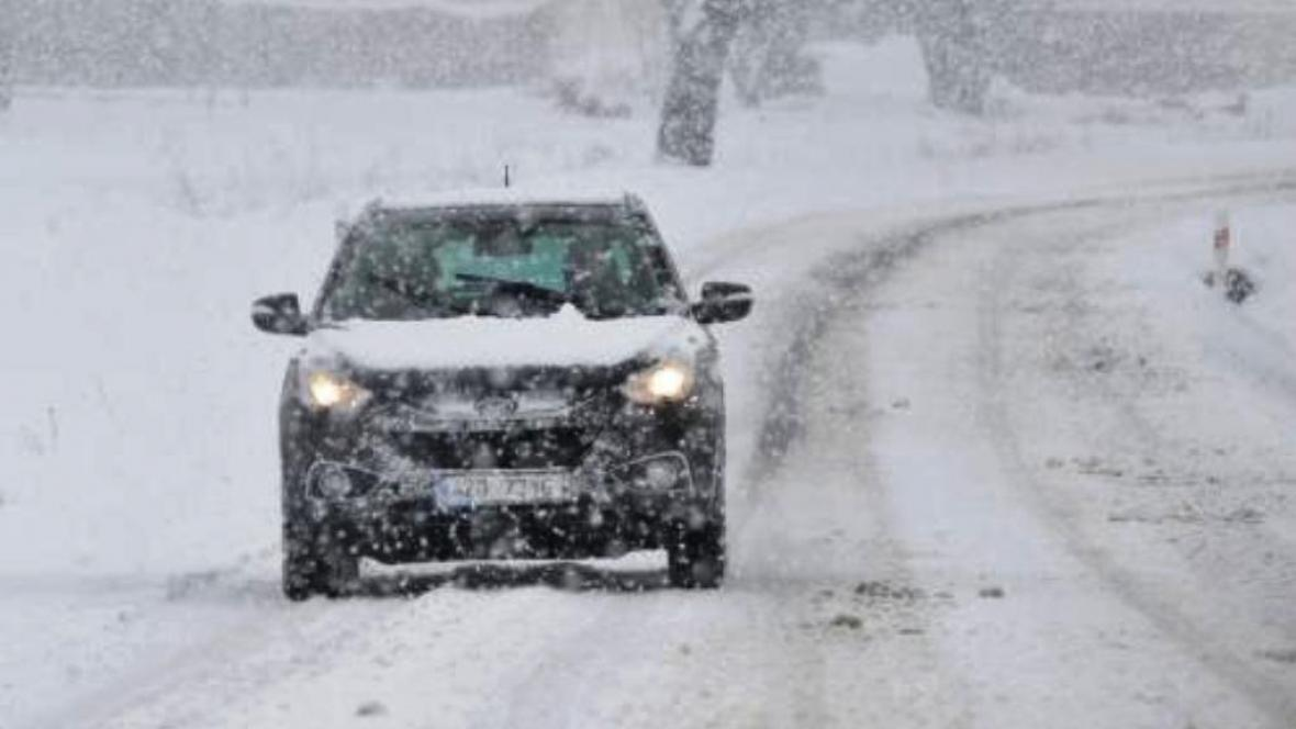 Zlínský kraj pod sněhem