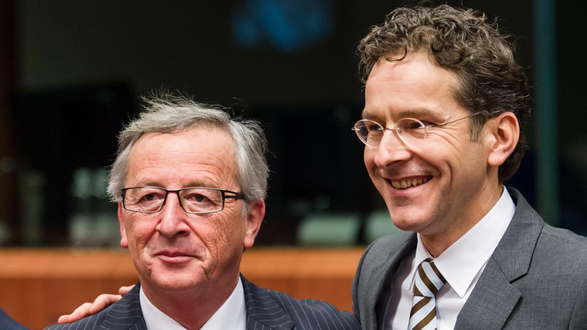 Jean-Claude Juncker a Jeroen Dijsselbloem