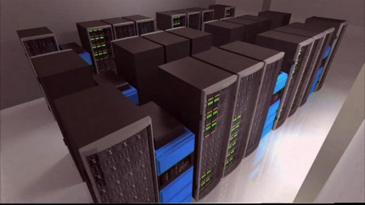 Model nového superpočítače