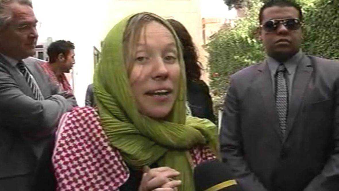 Norská turistka Ingvild Asková