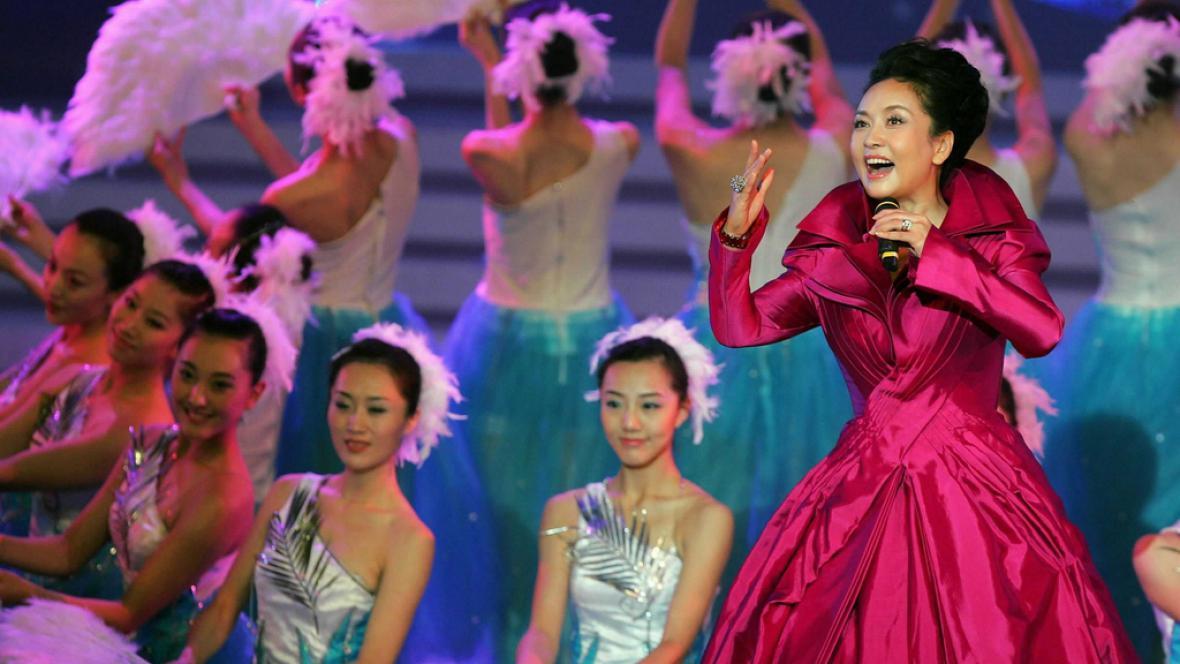 První dáma Číny Pcheng Li-jüan