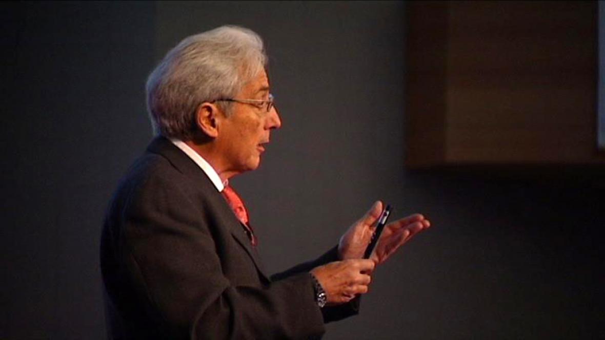 Albert Fert, držitel Nobelovy ceny za fyziku 2007